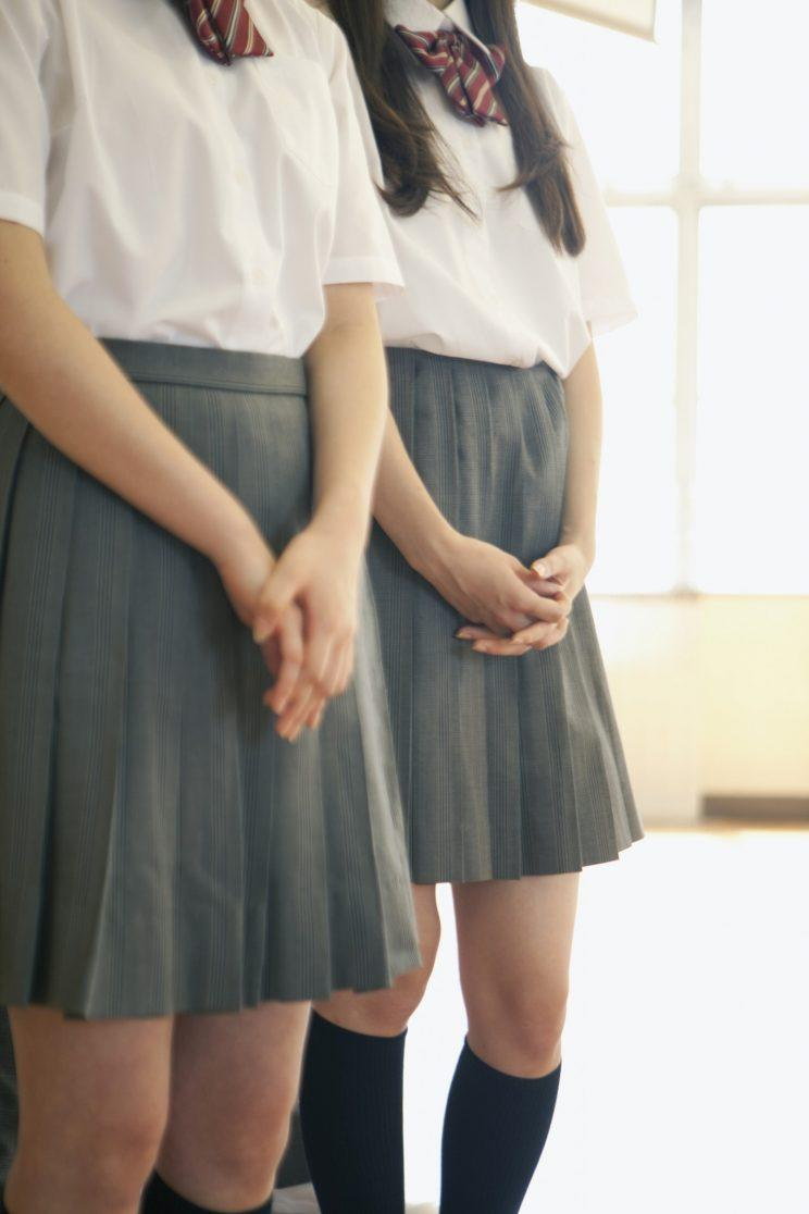 A school has been accused of sexism for asking parents to measure the length of girls skirts [Photo: Getty]