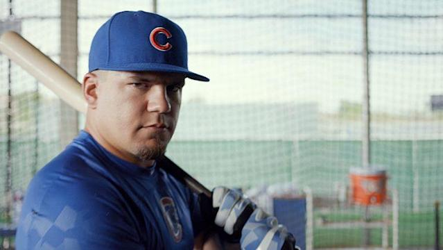"For <a class=""link rapid-noclick-resp"" href=""/mlb/players/9861/"" data-ylk=""slk:Kyle Schwarber"">Kyle Schwarber</a>, winning is no joking matter."