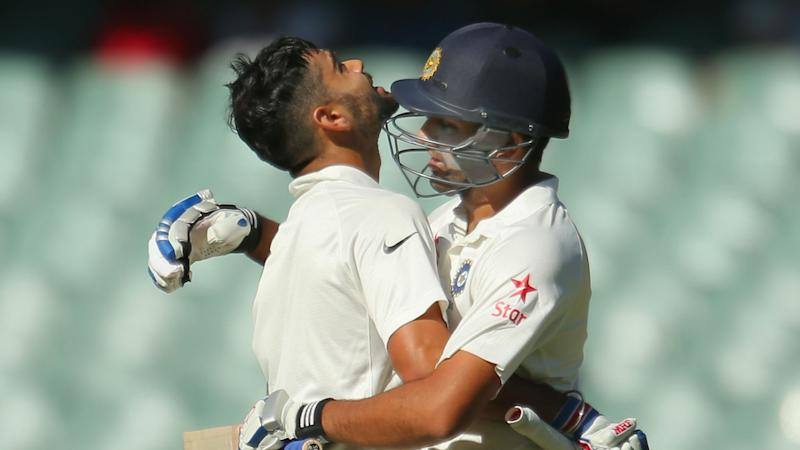 Give the guy a break – Kohli leaps to Rohit's defence