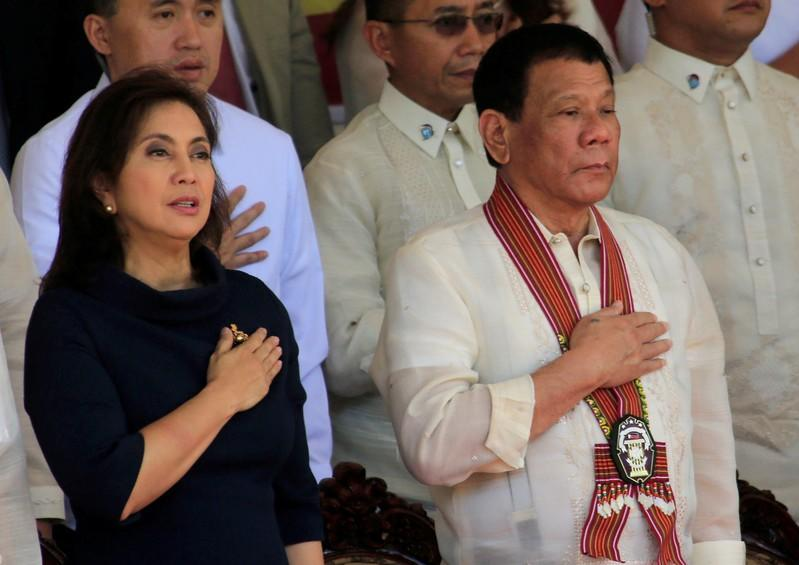 Philippines' Duterte to VP: keep state secrets or lose your 'drugs tsar' post