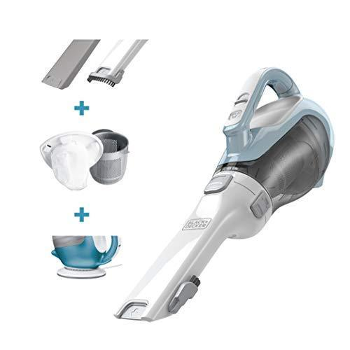 """<p><strong>BLACK+DECKER</strong></p><p>amazon.com</p><p><a href=""""https://www.amazon.com/dp/B006LXOJC0?tag=syn-yahoo-20&ascsubtag=%5Bartid%7C2139.g.32145429%5Bsrc%7Cyahoo-us"""" rel=""""nofollow noopener"""" target=""""_blank"""" data-ylk=""""slk:Shop Now"""" class=""""link rapid-noclick-resp"""">Shop Now</a></p><p> This lightweight cordless vacuum is perfect for cleaning different messes without having to take out your heavyweight cleaner. With ability to get to the nooks and crannies while still cleaning up floor messes, it's the perfect alternative to a broom and it's easy to clean once the vacuum bag gets full.</p>"""