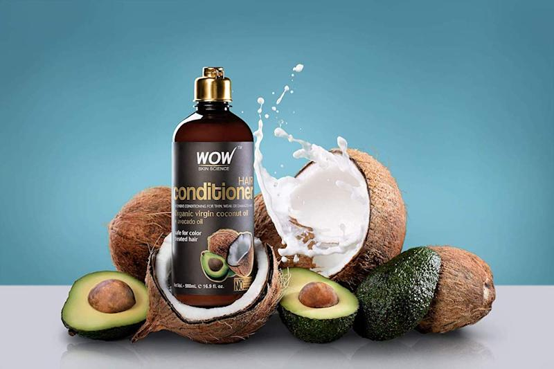 WOW Organic Coconut Oil and Avocado Oil Shampoo is part of the package too, and uses ingredients that replenish your hair with body and moisture. (Photo: Amazon)