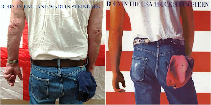"""He may have nailed the Springsteen stance, but resident Martin was """"born in England."""" (Photo: Sydmar Lodge/Robert Speker)"""