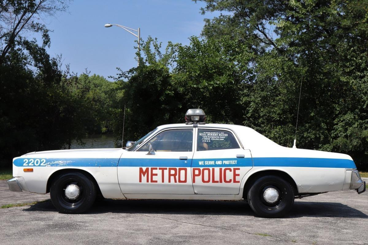 Police Cars For Sale >> Classics For Sale 1973 Plymouth Fury Police Car