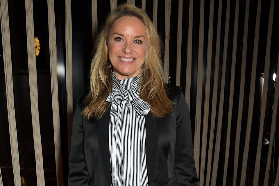 Tamzin Outhwaite attends the Vanity Fair EE Rising Star Award Party ahead of the 2020 EE BAFTAs at The Standard London on January 22, 2020 in London, England. (Photo by David M. Benett/Dave Benett/Dave Benett/Getty Images for EE)
