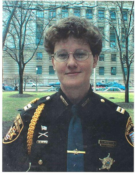 PHOTO: A young Charmaine McGuffey in uniform seen in this undated photo. (Courtesy Charmaine McGuffey)