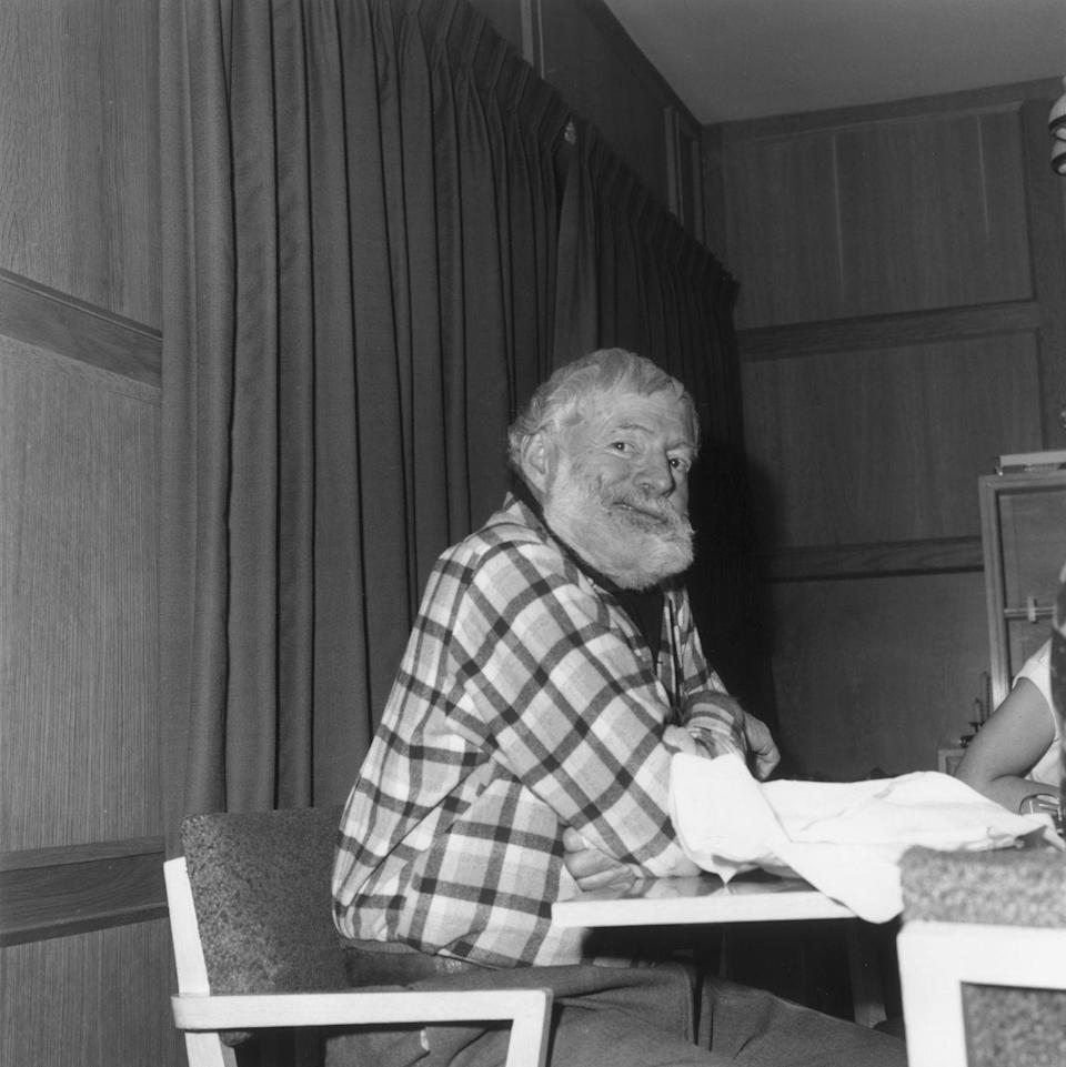 """<p>Throughout his life, Hemingway suffered from <a href=""""https://www.pbs.org/newshour/health/how-mental-health-struggles-wrote-ernest-hemingways-final-chapter"""" rel=""""nofollow noopener"""" target=""""_blank"""" data-ylk=""""slk:severe depression"""" class=""""link rapid-noclick-resp"""">severe depression</a>, but in his last few years his episodes worsened. His mental health deteriorated to the point that his wife was <a href=""""https://www.britannica.com/biography/Ernest-Hemingway"""" rel=""""nofollow noopener"""" target=""""_blank"""" data-ylk=""""slk:forced to hospitalize him"""" class=""""link rapid-noclick-resp"""">forced to hospitalize him</a>, where he received shock treatment. </p>"""