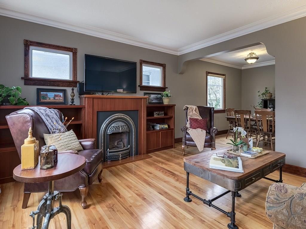 """<p><a rel=""""nofollow"""">230 24 Avenue Northeast, Calgary, Alta.</a><br /> This 2,104-square-foot home has the character of a home built in the 1940s.<br /> (Photo: Zoocasa) </p>"""