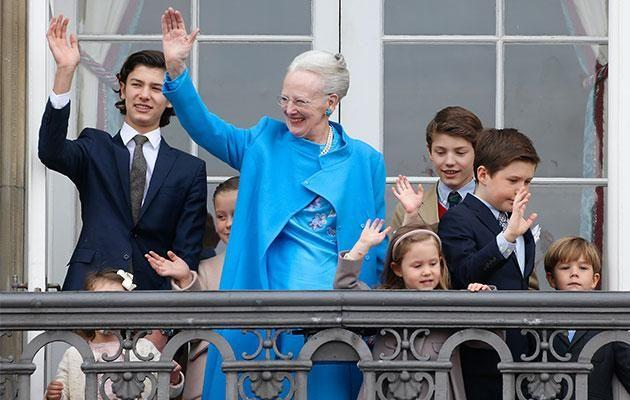 Queen Margrethe has been clear in how the royal fortune will be divvied up - and it won't extend to Prince Nikolai. Photo: Getty
