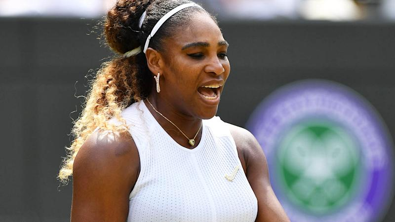 Serena Williams has been fined. (Photo by GLYN KIRK/AFP/Getty Images)