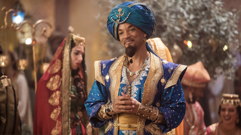 Will Smith in Aladdin (credit: Disney)