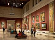 """<p><strong>Zoom out. What's this place all about?</strong><br> The crown jewel of <a href=""""https://www.cntraveler.com/gallery/best-museums-in-boston?mbid=synd_yahoo_rss"""" rel=""""nofollow noopener"""" target=""""_blank"""" data-ylk=""""slk:Boston's art scene,"""" class=""""link rapid-noclick-resp"""">Boston's art scene,</a> the Museum of Fine Arts (MFA) houses more than 500,000 works of art in a striking neoclassical building abutting the Back Bay Fens park. Wholly historic and beautifully modernized, it enriches you with a deep sense of gratitude for the cultural heritage of the world.</p> <p>As the fifth-biggest museum in the United States, the MFA is a significant draw to this small city, and Bostonians are immensely proud of its collection, exhibitions, and dynamic programming, from film festivals to art courses. No matter your interests or disinterests, you can find something that resonates with you here.</p> <p><strong>What will we find in the permanent collection?</strong><br> The MFA's vast collection of art and artifacts is exceptional by any standard. The museum houses one of the best collections of Korean art outside the Korean peninsula, the only permanent exhibition space for ancient coins in the United States, one of the world's largest holdings of ancient Egyptian treasures, and its most comprehensive collection of work by John Singer Sargent. The museum's claims to fame are so varied in fact, you could spend weeks documenting its exceptionality.</p> <p><br> The MFA collected the works of Claude Monet during his own lifetime, and you can see the museum's impressive holdings of his art in a gallery devoted to his oeuvre. These hang in the European Wing, reinstalled in 2016 with one of the greatest caches of the Impressionist's work outside of France.</p> <p>Today, the museum's leaders continue to invest in contemporary art that draws this institution deeper into the 21st century and heightens the promise of the its continued legacy. And they're always updating galleries to bet"""