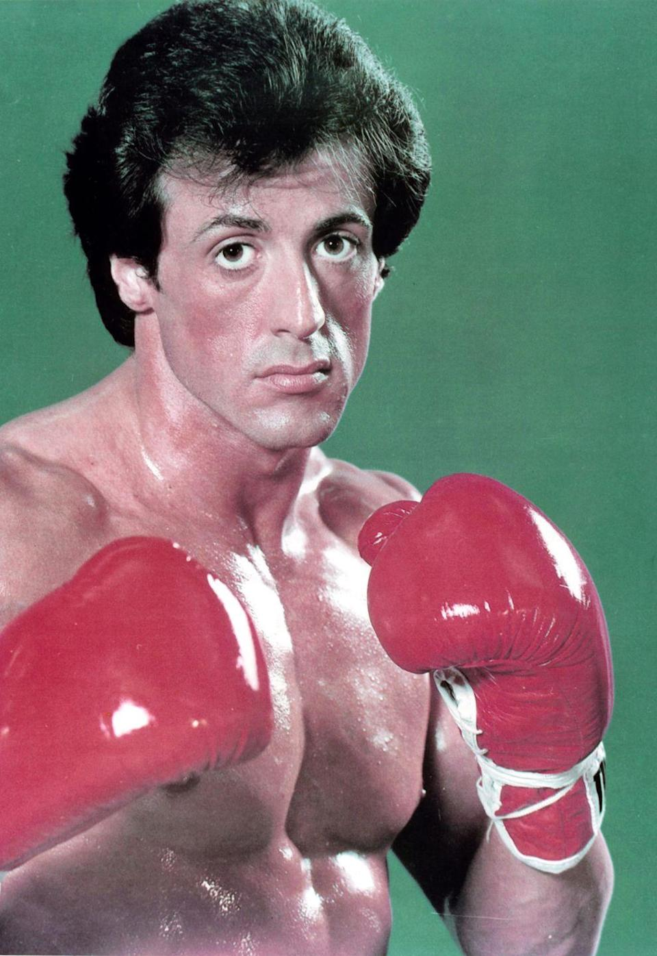 <p>Stallone has been playing Rocky Balboa since 1976. The latest installment in the legendary boxing series, Creed II, hits theaters in November, 2018.</p>