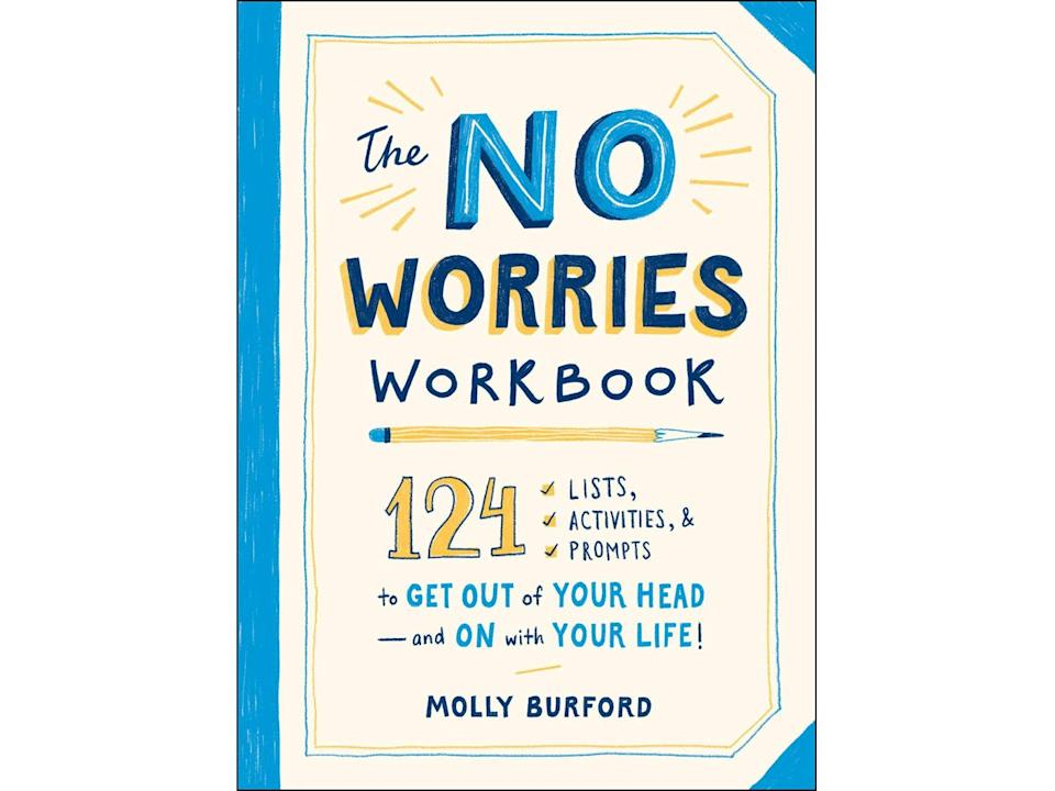 Best anxiety jounrals The No Worries Workbook