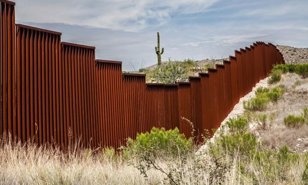 A section of the U.S.-Mexico border wall. Credit: Chess Ocampo/Shutterstock.com