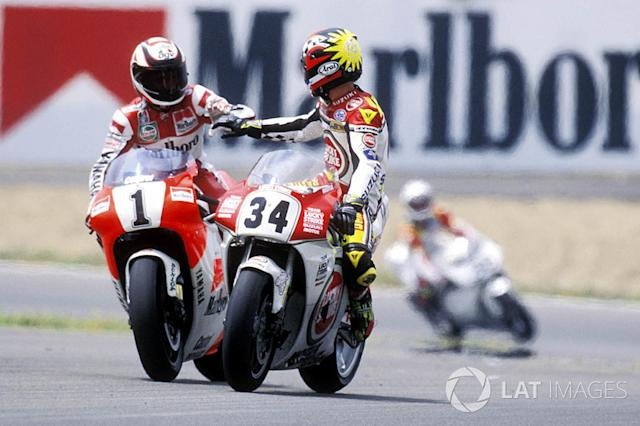 "1993 - Kevin Schwantz, Suzuki <span class=""copyright"">Gold and Goose / Motorsport Images</span>"
