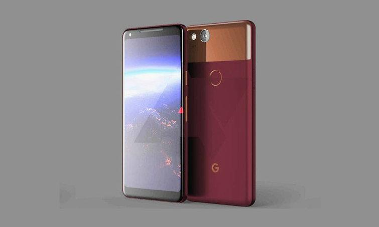 Google Pixel 2 leaked in rendered image, reveals thick bezels