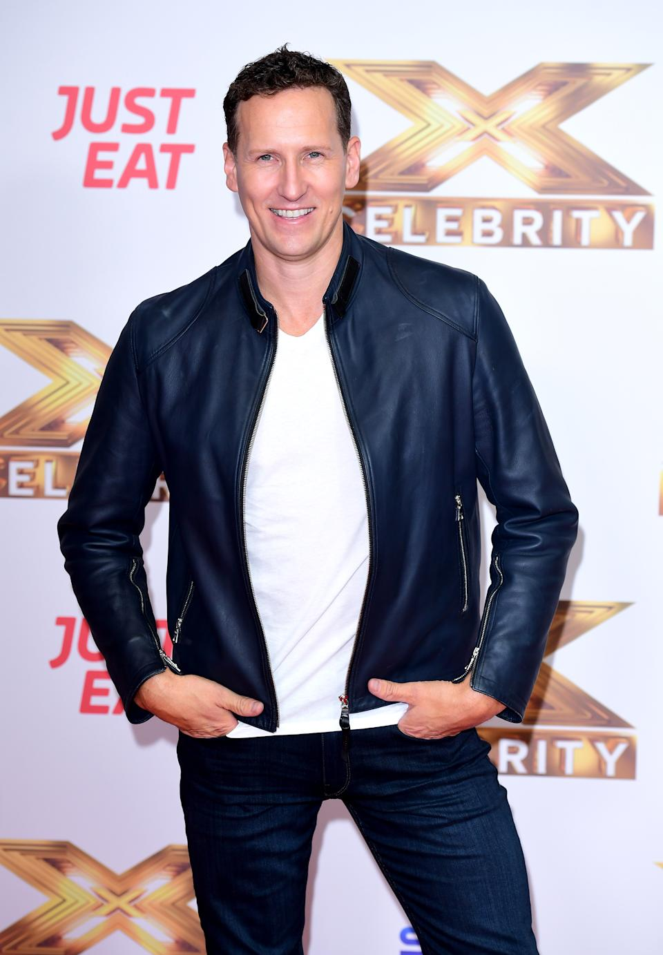 Brendan Cole attending the launch of The Factor: Celebrity, held at the Mayfair Hotel, London.