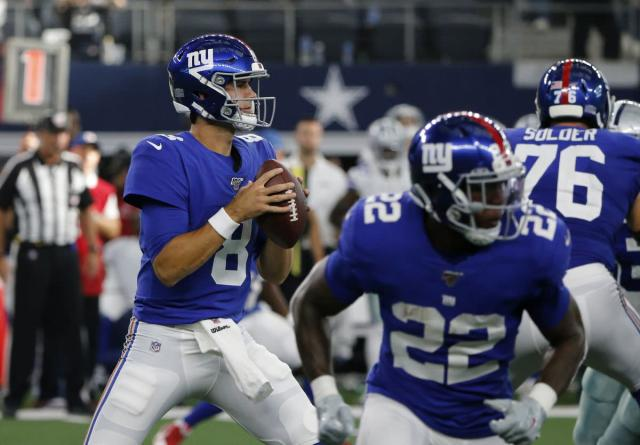 Giants rave about Daniel Jones as rookie set for first career NFL start vs. Bucs