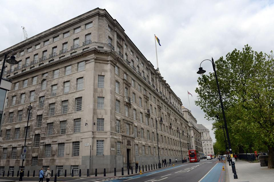 The HQ of MI5 in London (Anthony Devlin/PA) (PA Wire)
