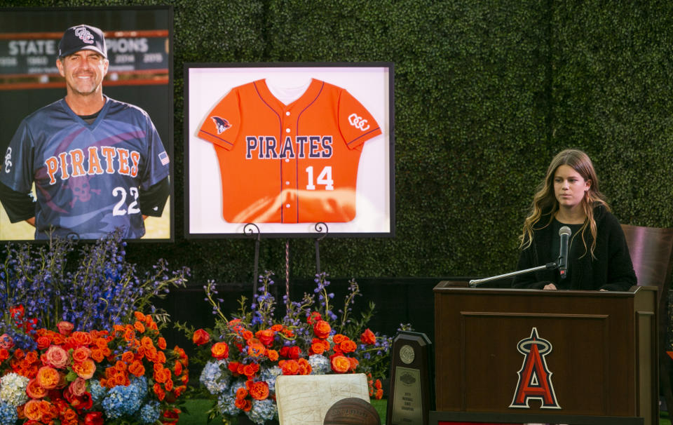 The longtime baseball coach at Orange Coast College, who had a hand in grooming MLB players Aaron Judge and Jeff McNeil, died along with his wife, Keri, and daughter, Alyssa, in the crash that also killed Kobe and Gianna Bryant. Gianna and Alyssa were teammates.
