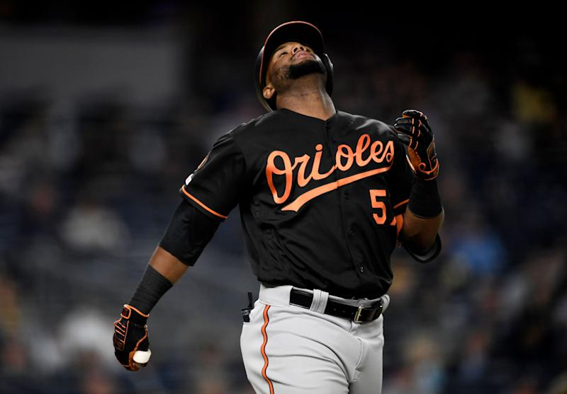Hanser Alberto kicked off a comedy of miscues in the most O's play of the season. (Getty)