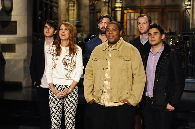 "Kristen Wiig hosts the twentieth episode of ""Saturday Night Live"" Season 38."