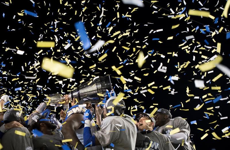 Winnipeg Blue Bombers beat Hamilton Tiger-Cats to win the Grey Cup