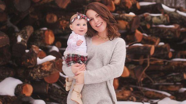 PHOTO: Sarah Buckley Friedberg of Needham, Mass., is seen in this undated photo with her daughter, Harper, 1. Friedberg posted a 1,050-word Facebook status about society's view of working mothers. (Mariah Gale Creative)
