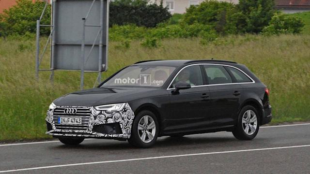 """<p>This is our first look at the upcoming refresh for the <a href=""""https://www.motor1.com/audi/a4/"""" rel=""""nofollow noopener"""" target=""""_blank"""" data-ylk=""""slk:Audi A4"""" class=""""link rapid-noclick-resp"""">Audi A4</a>, and the changes appear to be fairly minimal. </p> <p>Audi revises the front end by adjusting the shape of the corner intakes and making the fascia's lower inlet longer. At the back, there are new trapezoidal exhaust outlets and a simulated diffuser.</p> <h3><a href=""""https://www.motor1.com/news/242995/audi-a4-refresh-spy-shots/"""" rel=""""nofollow noopener"""" target=""""_blank"""" data-ylk=""""slk:Refreshed Audi A4 Spied Showing Off Its New Nose"""" class=""""link rapid-noclick-resp"""">Refreshed Audi A4 Spied Showing Off Its New Nose</a></h3>"""