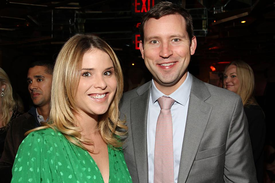 George W. Bush's daughter Jenna Bush Hager kept it low-key when she decided to propose to Henry Hager after he came over to watch a football game. He said no at the time (they had only been together three months) but ended up proposing five years later. (Getty Images)