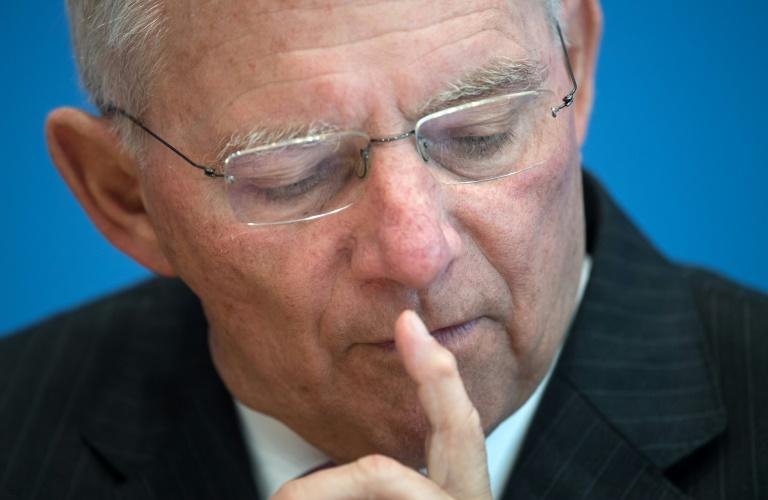 German Finance Minister Wolfgang Schaeuble was extremely unpopular in Greece during the country's crippling debt crisis