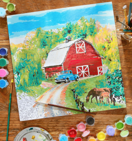 """<p>Put your artistic abilities to the test, perhaps with the help of a little vino. There's no shortage of art studios nationwide that offer painting and wine pairings, and now some are <a href=""""https://www.sipsnstrokes.com/paint-kits-to-go/"""" rel=""""nofollow noopener"""" target=""""_blank"""" data-ylk=""""slk:offering to-go kits"""" class=""""link rapid-noclick-resp"""">offering to-go kits</a> you and your mom can do at home. (Check with locations near you, or order a pair of <a href=""""https://www.countryliving.com/diy-crafts/a24407294/paint-by-number-kits/"""" rel=""""nofollow noopener"""" target=""""_blank"""" data-ylk=""""slk:Country Living paint-by-numbers"""" class=""""link rapid-noclick-resp""""><em>Country Living</em> paint-by-numbers</a> and dish while you dabble.)<br></p>"""