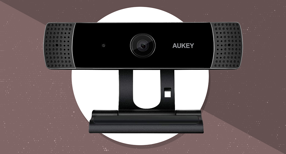 Good news! Webcams are back in stock at Amazon. (Photo: AUKEY)