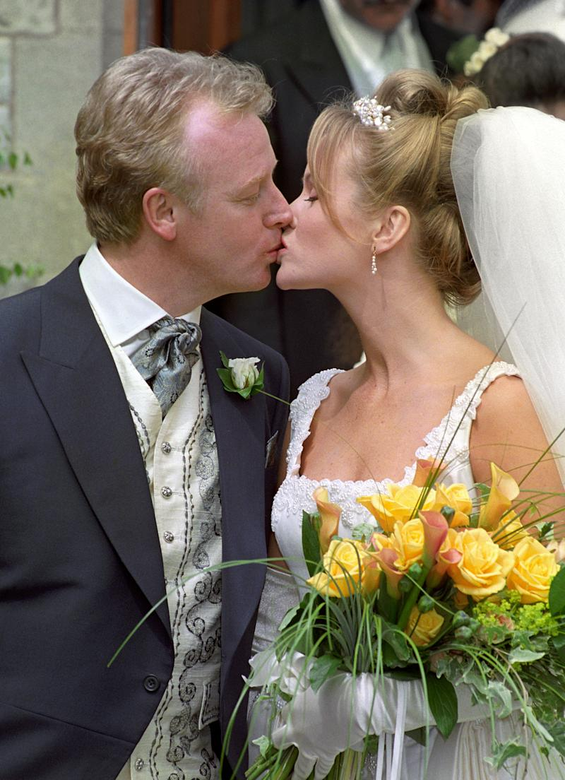 Amanda Holden was married to Les Dennis for eight years. (Photo by Tim Ockenden - PA Images/PA Images via Getty Images)
