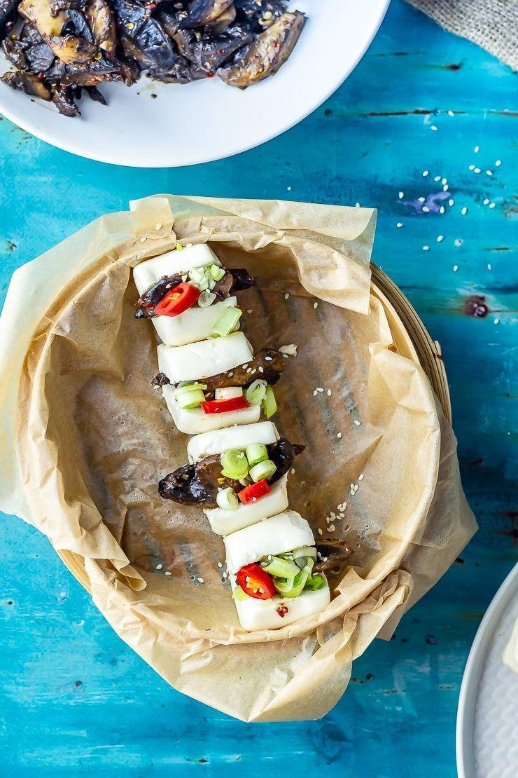 """<p>The dressing on the sesame cucumber salad is the best to mop up with your bao buns. </p><p>Get the <a href=""""https://thecookreport.co.uk/mushroom-bao-sesame-cucumber-salad/"""" rel=""""nofollow noopener"""" target=""""_blank"""" data-ylk=""""slk:Mushroom Bao with Sesame Cucumber Salad"""" class=""""link rapid-noclick-resp"""">Mushroom Bao with Sesame Cucumber Salad</a> recipe.</p><p>Recipe from <a href=""""https://thecookreport.co.uk/"""" rel=""""nofollow noopener"""" target=""""_blank"""" data-ylk=""""slk:The Cook Report"""" class=""""link rapid-noclick-resp"""">The Cook Report</a>.</p>"""