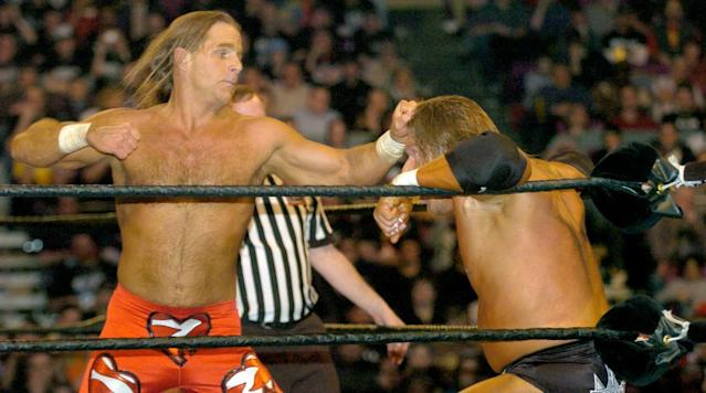AJ Styles turned heads back in October when he told SI.com that he wanted Shawn Michaels to come out retirement and face him at the Royal Rumble.