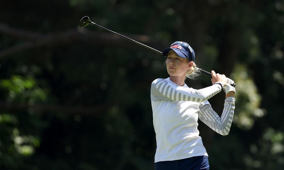 Nelly Korda during today's third round.