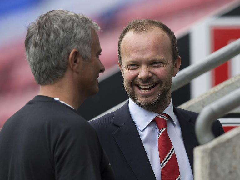 Time to talk: Ed Woodward and Jose Mourinho need to end the PSG rumours