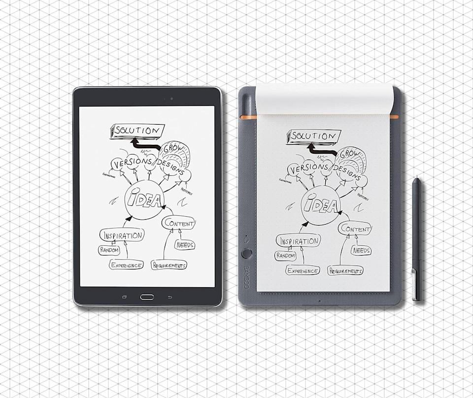 "<p class=""body-dropcap"">You can go completely paperless with an iPad and an Apple Pencil, or a Samsung Galaxy Note, but for many there's still no substitute for traditional pen and paper. Smart notebooks are one way to bridge that divide. They let you write on real paper with a real pen, and then transfer those notes to your smartphone or computer, although the way they accomplish that can vary depending on the type of smart notebook. In many cases, those notes can automatically be sent to specific apps like Evernote or Dropbox, and your handwriting can be automatically converted to editable, searchable text—saving you time you might otherwise use retyping those notes yourself. </p><h3 class=""body-h3"">What to Consider </h3><p>While all smart notebooks let you take notes on paper and digitize them, they go about that process in different ways. Some use special paper that you simply take a picture of with your smartphone to scan, some rely on a smart pen that automatically captures notes or drawings itself, and others use a tablet placed behind a piece of paper that handles the work of digitizing your notes. Each has their own advantages, and they can vary considerably in price, which makes it important to choose the best one for your needs.</p><h3 class=""body-h3"">How We Chose</h3><p>To pick these smart notebooks, we researched thousands of online customer reviews, focusing on products that are consistently rated four-out-of-five stars or higher. We also took professional reviews from a range of established sources into account, including SlashGear, PCMag, and TrustedReviews, and relied on our own experience using notebooks from a number of these manufacturers.</p>"