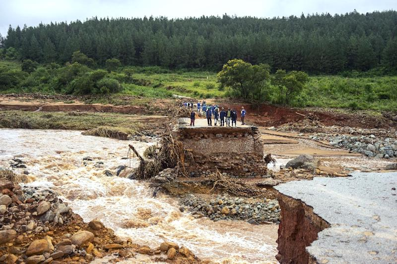 After the devastation wrought by Cyclone Idai, the new threat is from disease, the Red Cross warned (AFP Photo/Zinyange AUNTONY)