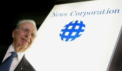 Rupert Murdoch, chairman of News Corp., in 2004