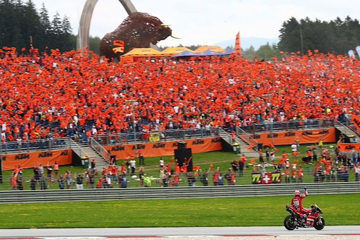 MotoGP Austrian GP session timings and preview