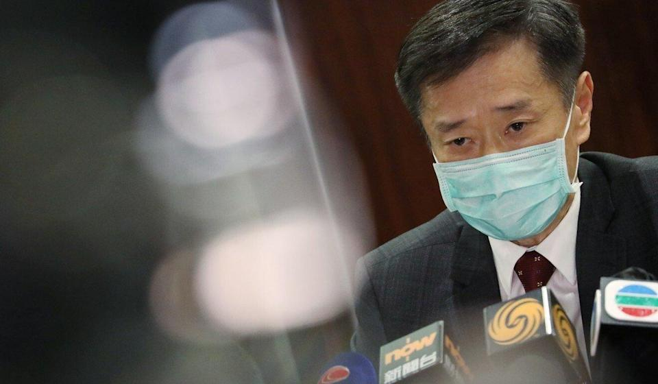Lawmaker Yiu Si-wing says Hong Kong will face a severe shortage of quarantine rooms during the summer months. Photo: K. Y. Cheng