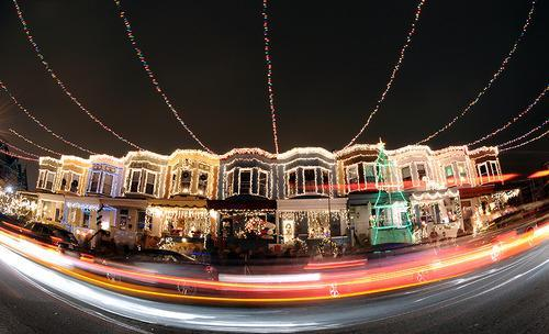 But some streets go above and beyond to get in the spirit of the season.  Here are six examples, but of course there are many, many others out there,  too. - Six Residential Streets With Amazing Christmas Lights