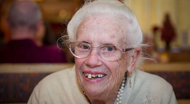 The 87-year-old, who has no family living nearby, had to resort to keeping herself warm by topping up her hot water and also used the taps to keep herself hydrated. Source: Supplied.