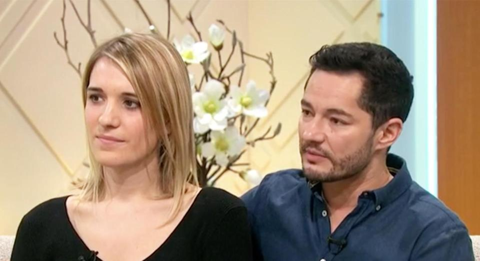 Hannah and Jake Graf are ready to start a family together. [Photo: ITV]