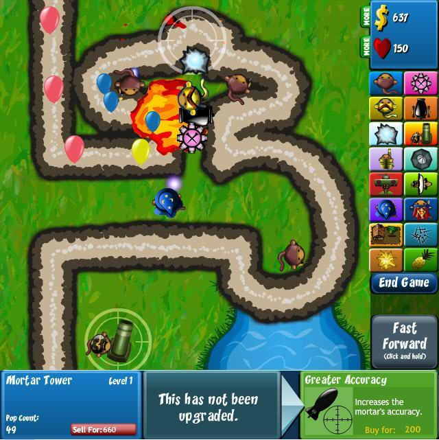 Game of the Day: Bloons Tower Defense 4