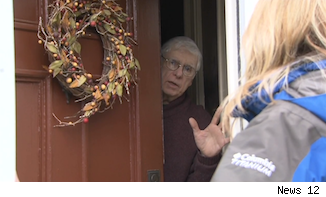 Homeowner whose house in the Journal News gun map reportedly was targeted by thieves.