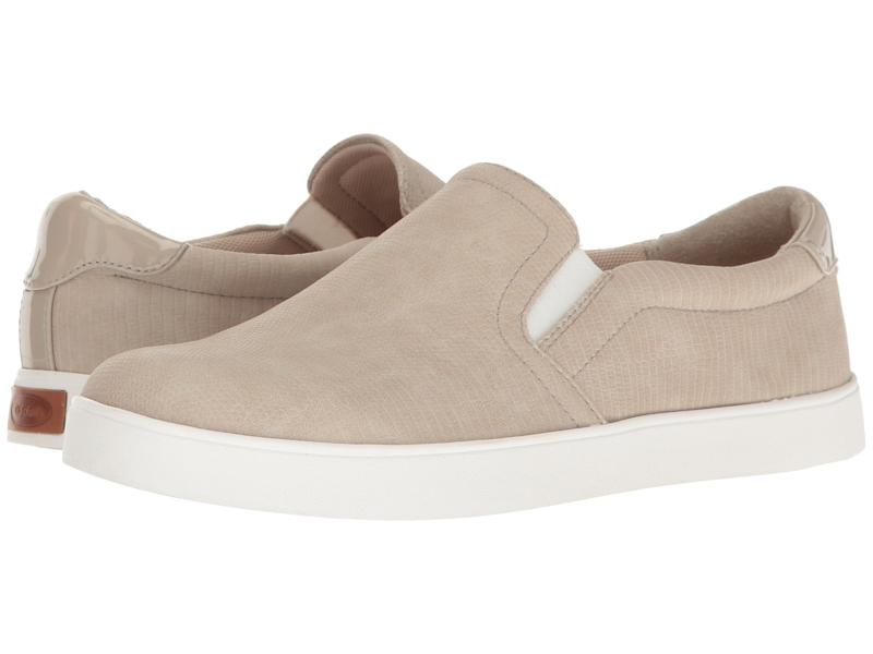 Dr. Scholl's Madison Sneakers in Simple Taupe Reptile Print. (Photo: Zappos)